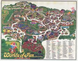 Kansas City Map Pin By E Cade On My Kansas City And Worlds Of Fun Map