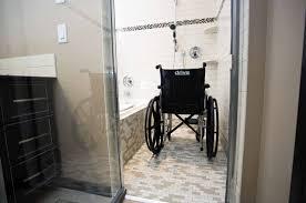 accessible shower doors bathroom accessible university