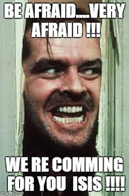 Afraid Meme - heres johnny meme imgflip