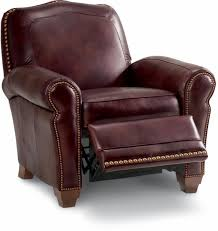 faris recliner low profile recliner leather recliner by la z boy