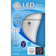 ge 60 watt equivalent daylight led a19 bulb 1 pack walmart com