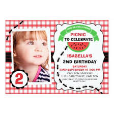 kids picnic birthday party invitation teen birthday party