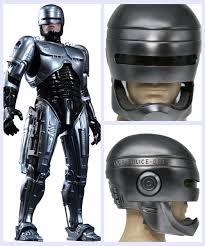 xcoser robocop helmet full head halloween cosplay movie prop dj