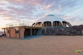 Huell Howser Volcano House | huell howser s volcano top saucer house in the mojave desert is