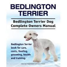 feeding a bedlington terrier bedlington terrier bedlington terrier dog complete owners manual