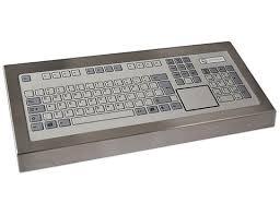 bureau tactile clavier de bureau 128 touches avec pavé tactile ps2 cks