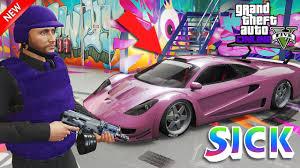 modded sports cars gta 5 online best iridescent plum paint job super sports car