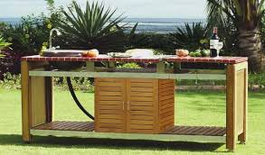 meuble cuisine exterieur inox cuisines d extérieur et barbecues design et haut de gamme