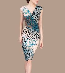 Blue Leopard Print by Online Get Cheap Blue Leopard Print Dress Aliexpress Com