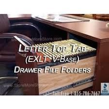 Folders For Filing Cabinet Oblique Exlt V Base Letter Size Premium Hanging File Folders