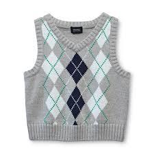 editions infant toddler boy s knit sweater vest argyle