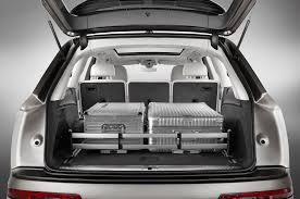 audi q7 cargo capacity 2017 audi q7 reviews and rating motor trend