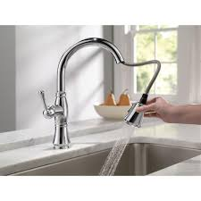 black centerset high end kitchen faucets two handle pull out spray