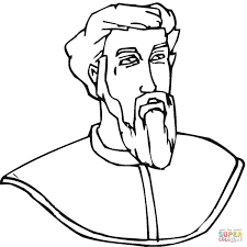 christopher columbus coloring page free printable coloring pages