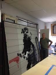 banksy display paul schurch veneer artist banksy 8