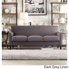 tribecca home uptown modern sofa sofas