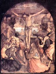 image ancient icon of the crucifixion of jesus صورة أيقونة أثرية