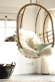 vintage rattan hanging chairs are making a comeback aphrochic