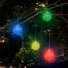 solar powered outdoor tree chritsmas decor