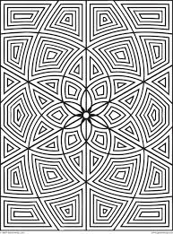 printable 42 geometric coloring pages 9760 geometric pattern