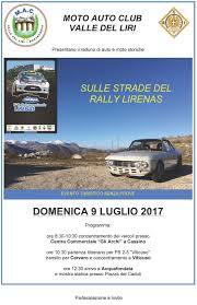 rally archivi lirenas event