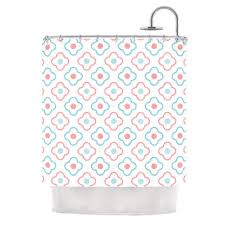 Pink And Orange Shower Curtain Best Moroccan Shower Curtain Products On Wanelo