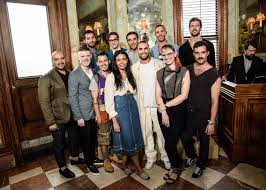 the 2015 cfda vogue fashion fund contestants celebrate at the jane