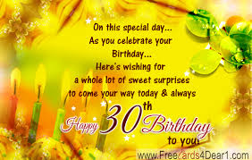 30th birthday greeting card greeting cards