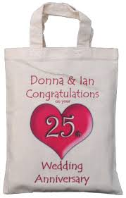 25th wedding anniversary gift 25th wedding anniversary gift bags imbusy for