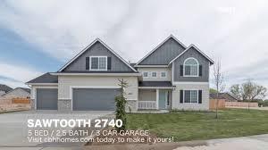 cbh homes sawtooth 2740 5 bed 2 5 bath 3 car garage youtube