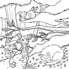 26 dessins de coloriage forêt à imprimer sur laguerche com page 1