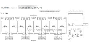high park residences floor plan commercial shop condo singapore