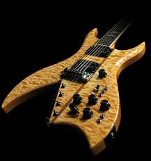 bc rich 10 string supreme natural shred guitars pinterest