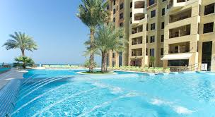 marjan island resort u0026 spa outdoor pools