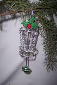 disc golf basket ornament ooak daze on popscreen