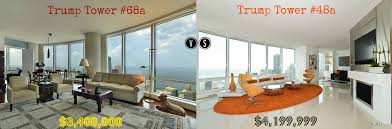 inside trumps penthouse deciding between trump tower chicago s most expensive condos for sale