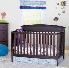 Crib Bed Convertible by Graco Benton 5 In 1 Convertible Crib With Bonus Mattress