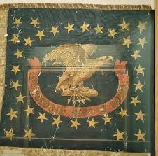 American Battle Flag History And Culture By Bicycle Battle Flag Hall Flags In The