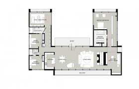 house plans new energy saving u shaped modern house plans modern house design