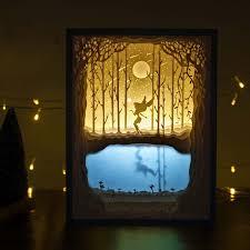 Creative Light Fixtures Amazon Com Papercut Light Boxes Night Light Lamp Of Creative