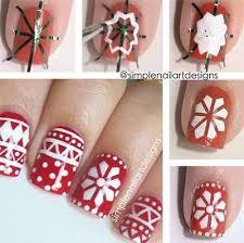 easy christmas nail art tutorials 2013 2014 x mas nails