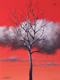 portrait of a tree acrylic painting lesson tim gagnon studio