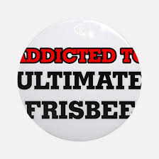 ultimate frisbee ornament cafepress