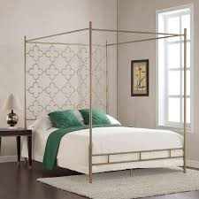 Steel Canopy Frame by Retro Glitz Quatrefoil Queen Canopy Bed By I Love Living