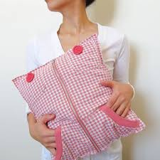 Upcycled Pillows - upcycle old hoodies into pillows muslin and merlot