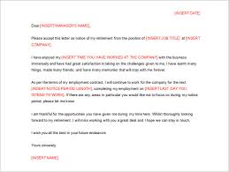 resignation letter template 43 free word pdf format download