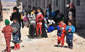 unicef siege half a million children siege in syria unicef calls for help