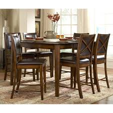 weston home verona 7 piece counter height table set walmart com