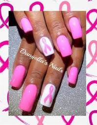 breast cancer nails nail art gallery by nails magazine best of
