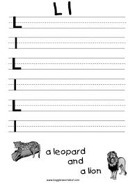 free worksheets trace letter l free math worksheets for